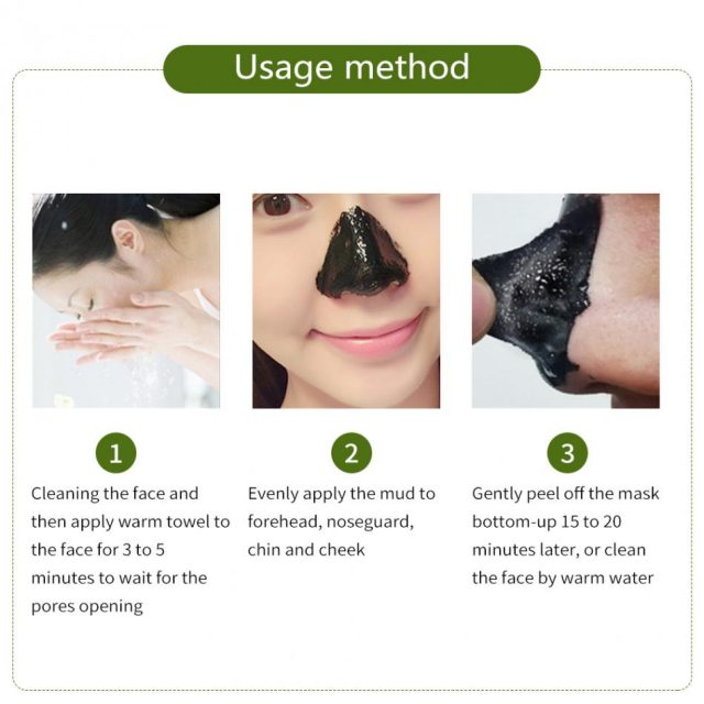10pcs/lot Facial Minerals Mud Cleaner Membranes