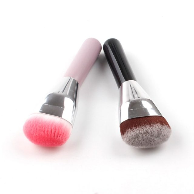 VVHUDA Contour Buffer Makeup Brush 1Pcs Blending Full-coverage Mineral Buffering Face Definition Powder Liquid Formulations Tool