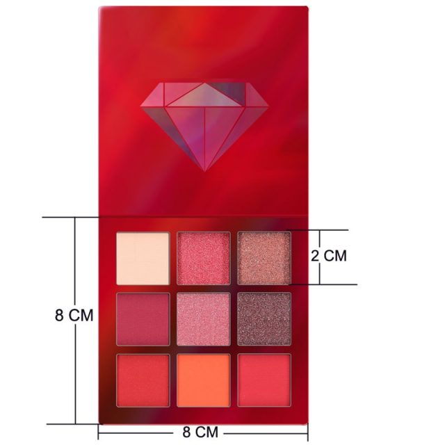 9 Color Glitter Pallete Matte Eye shadow