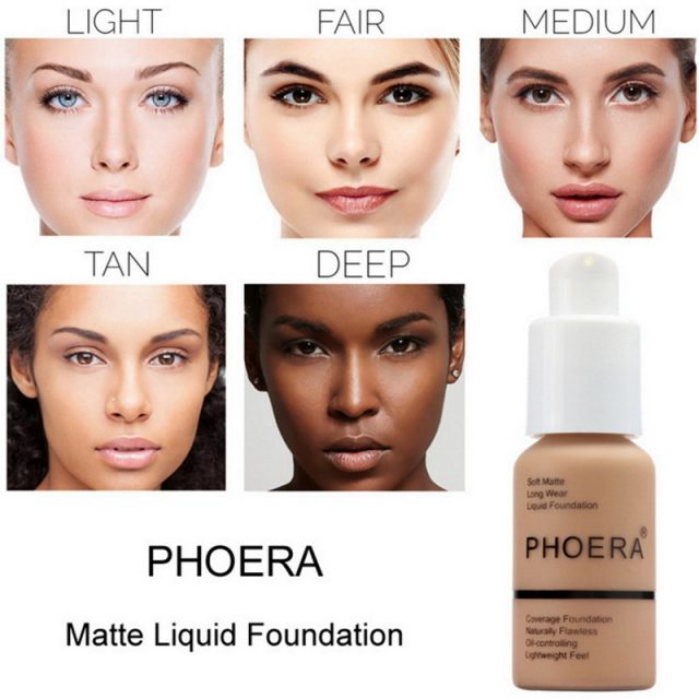 Soft Matte Liquid Foundation Makeup